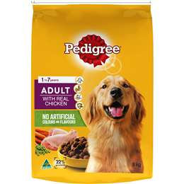 Pedigree Adult With Chicken Dry Dog Food 8kg