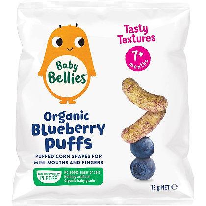 Baby Bellies Organic Puffs Blueberry 12g