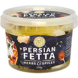 Melbourne Cheese Company Persian Fetta 250g