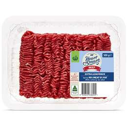 Heart Smart Extra Lean Beef Mince 500g