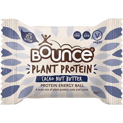 Bounce Plant Protein Cacao Nut Butter Energy Ball 40g