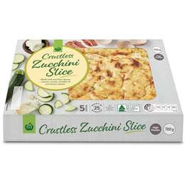 Woolworths Zucchini Slice Chilled Meal 700g