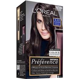 L'oreal Paris Preference Hair Colour 3.12 St Honore each