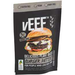Veef Plant Based Burger Patties 226g