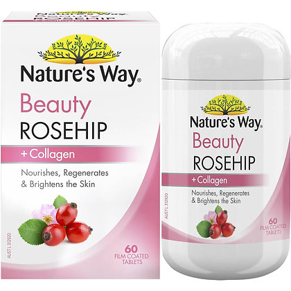 Nature's Way Rosehip & Collagen Tablets 60 pack