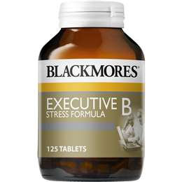 Blackmores Executive B Tablets 125 pack