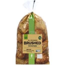 Fresh Potato Brushed 4kg