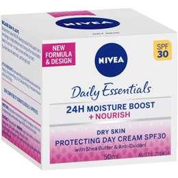 Nivea Daily Essentials Day Cream Spf 30+ Moisture Rich 50ml