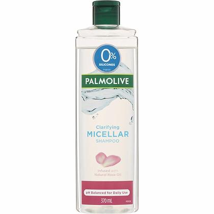 Palmolive Clarifying Micellar Hair Shampoo Rose Oil 370ml
