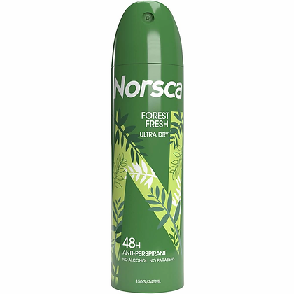 Norsca Deodorant Aerosol Forest Fresh 150g
