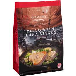 Ocean Chef Tuna Yellowfin Tuna Steaks 1kg