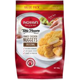 Ingham's Crumbed Chicken Nuggets Family Pack 700g