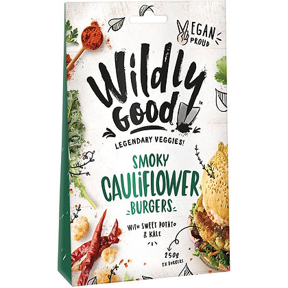 Wildly Good Smoky Cauliflower Burger 250g