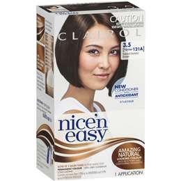 Clairol Nice N Easy 3.5 Natural Darkest Brown each