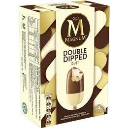 Magnum Double Dip Duet 4 pack