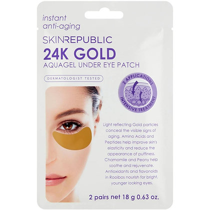 Skin Republic Gold Under Eye Patches 2 pack