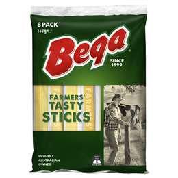 Bega Tasty Stick Cheese 160g
