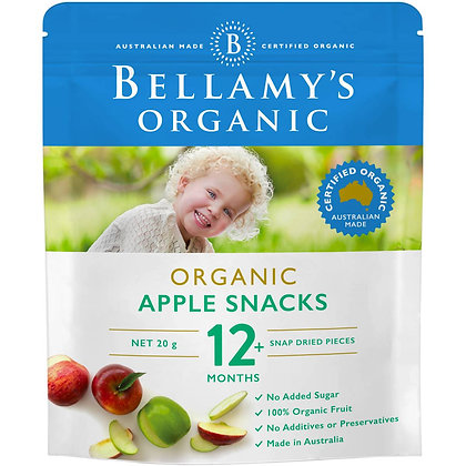 Bellamy's Organic Apple Snacks Apple 20g