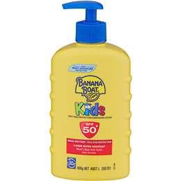 Banana Boat Kids Sunscreen Spf 50+ 400g