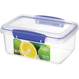 Sistema Klip It Plasticware Rectangle 1l