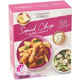 Ocean Chef Lightly Seasoned Squid Chip 360g