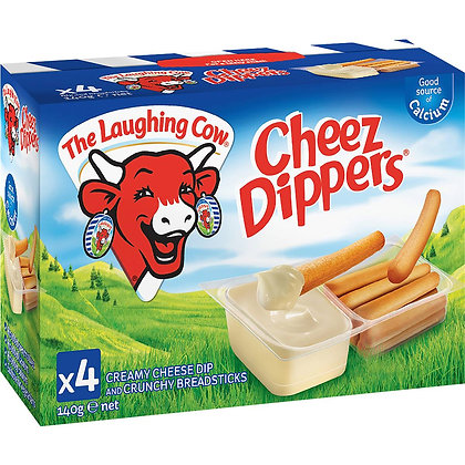 Laughing Cow Cheez Dippers 140g