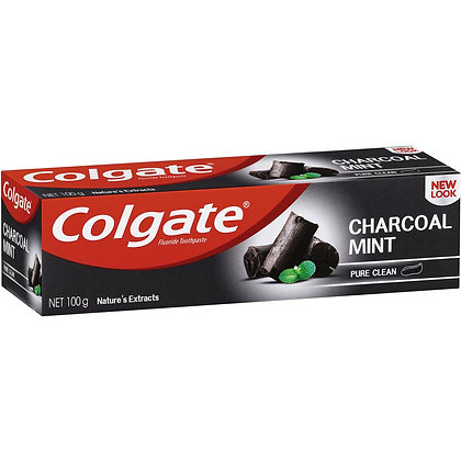 Colgate Nature's Extracts Pure Clean Charcoal + Mint Toothpaste 100g