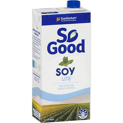 Sanitarium So Good Long Life Lite Soy Milk 1l