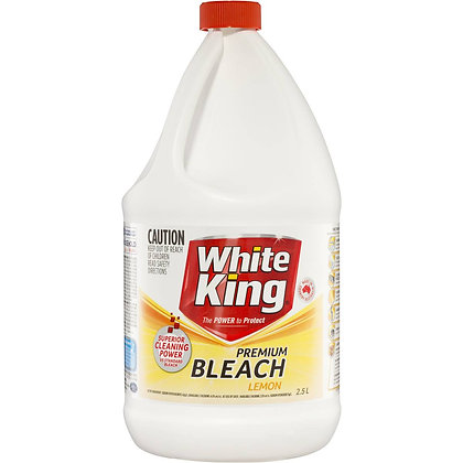 White King Premium Bleach Lemon 2.5l