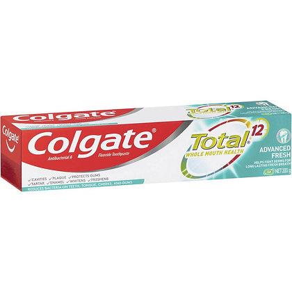 Colgate Total Advanced Fresh Antibacterial Gel Toothpaste 200g