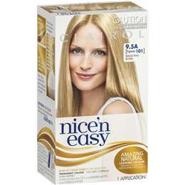 Clairol Nice N Easy 9.5a Natural Baby Blonde each