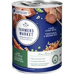 Farmers Market Lamb Stew Vegetables & Brown Rice 400g