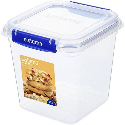 Sistema Sistema Klip It Plus Biscuit Box Square 2.2l