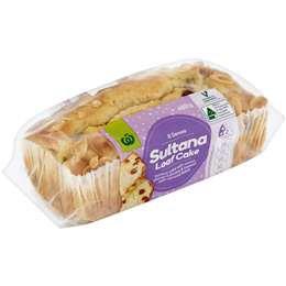 Sultana Butter Cake 480g