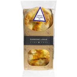 Simmone Logue Lentil & Veg Pie 2 pack
