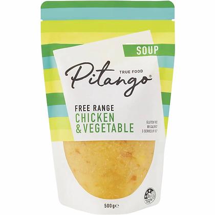 Pitango Free Range Chicken & Vegetable Soup 500g