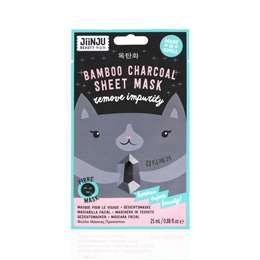 Jiinju Bamboo Charcoal Sheet Mask each