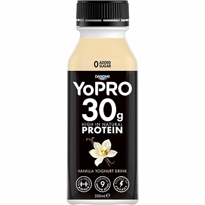 Danone Yopro Vanilla Drink Yoghurt 350ml
