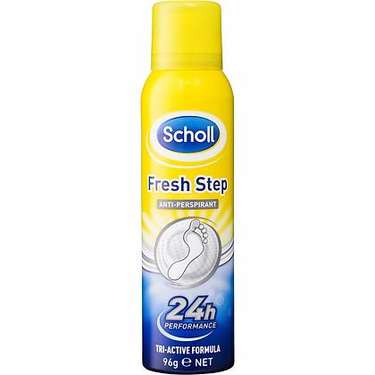 Scholl Fresh Step Anti Perspirant Spray 96g