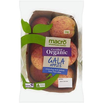 Macro Organic Royal Gala Apple Punnet 1kg