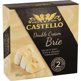 Castello Double Cream Brie 300g