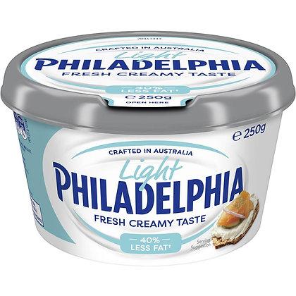 Philadelphia Cream Cheese Spread Light 250g