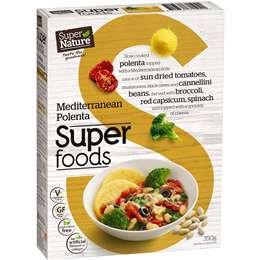 Super Nature Super Foods Mediterranean Polenta 350g