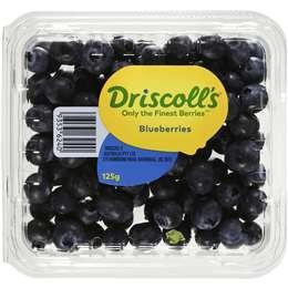 Driscoll's Fresh Blueberries 125g