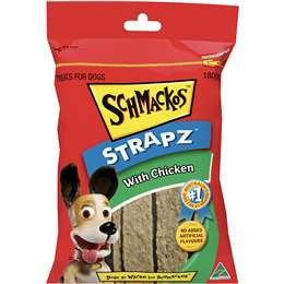 Schmackos Strapz With Chicken Dog Treats 180g