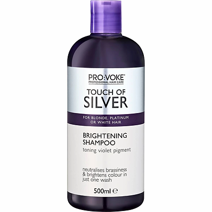 Provoke Touch Of Silver Brightening Purple Shampoo 500ml