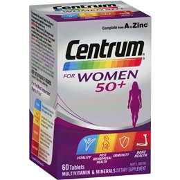 Centrum For Women 50+ 60pk