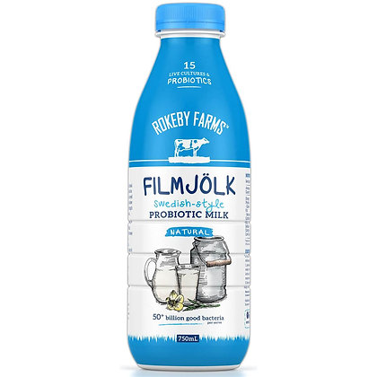 Rokeby Farms Filmjolk Probiotic Milk Natural 750ml