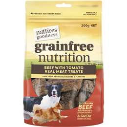 Vip Natures Goodness Bbq Beef Treat 200g