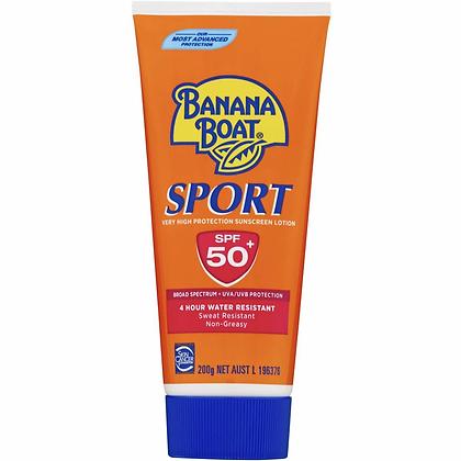 Banana Boat Spf 50+ Sunscreen Sport 200g
